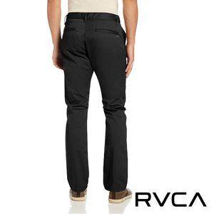 RVCA Men's Weekend Pant Black 38x32